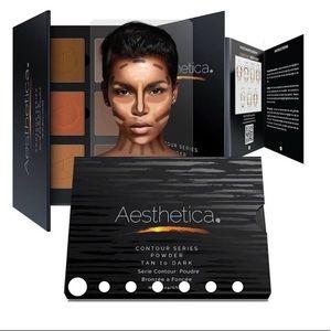 Aesthetica Pressed Powder Contour Kit - Tan/Dark